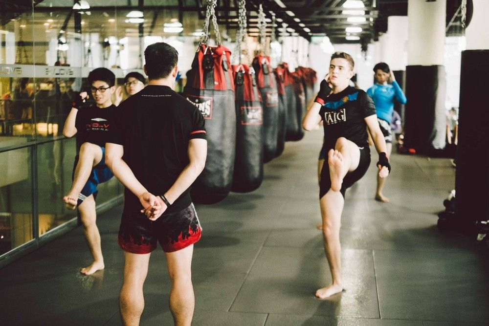 A 60-minute Muay Thai class can burn up to 1,000 calories and tone your muscles.