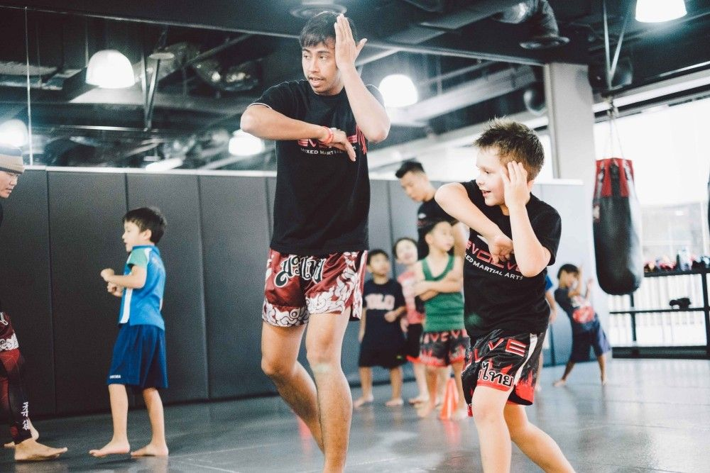 Boost your kids' confidence by letting them train Muay Thai.