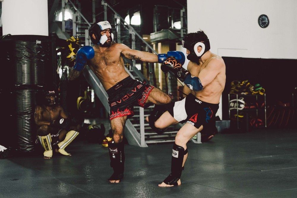Sparring is a great way to deepen your understanding of techniques.