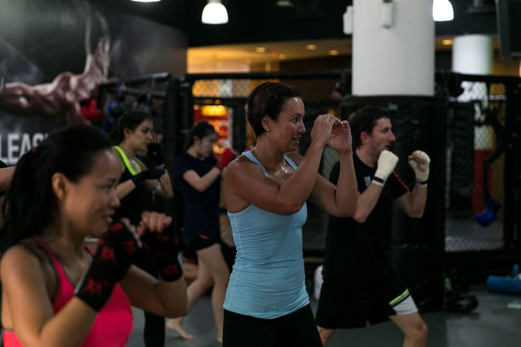 Muay Thai is a great full body workout.