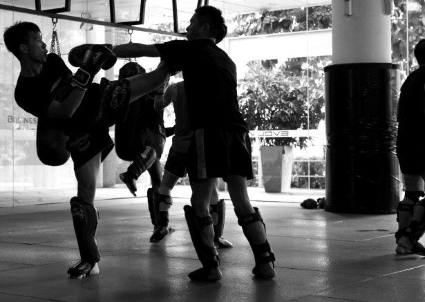 For the more seasoned Muay Thai student, Evolve MMA offers intermediate and advanced level classes. Those wishing to take their Muay Thai training to the next level will enjoy the variety of complex combinations, clinch techniques, and live sparring sessions.