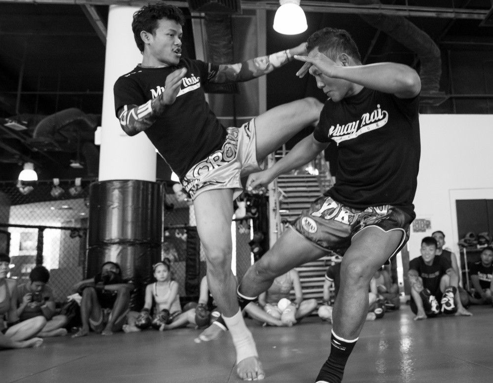 Multiple-time Muay Thai World Champion Orono Wor Petchpun and Muay Thai Legend Saenchai PKSaenchaimuaythaigym are two of the most well-known fighters of their eras.