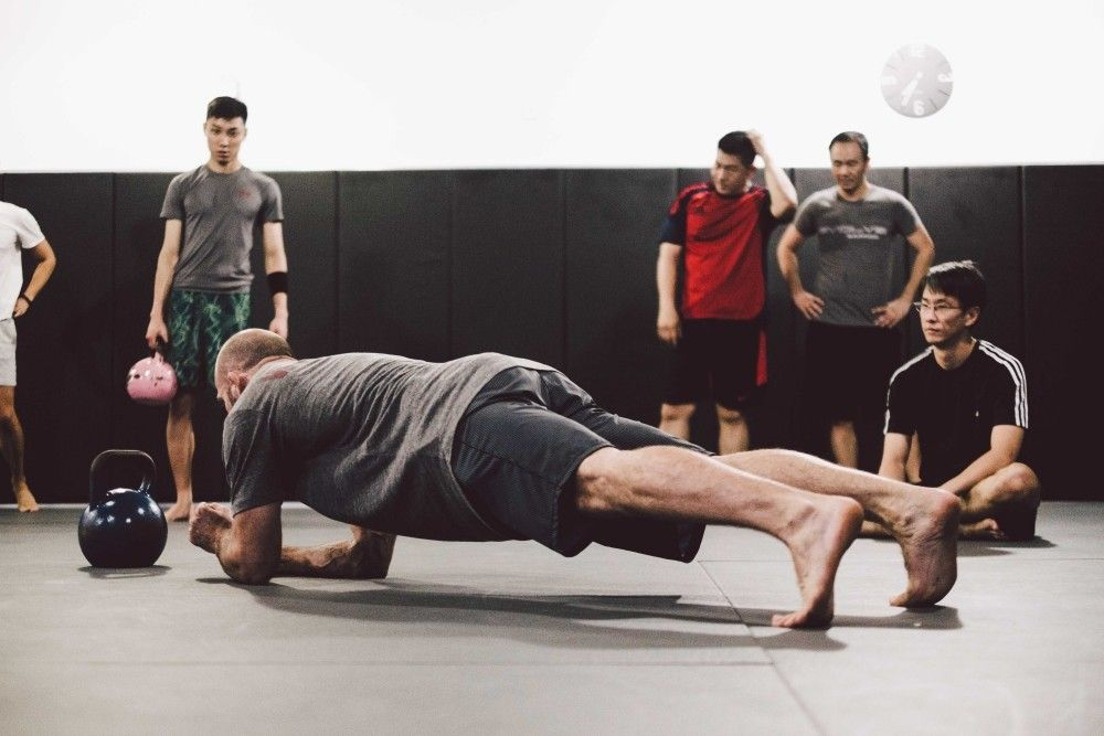 circuit training plank