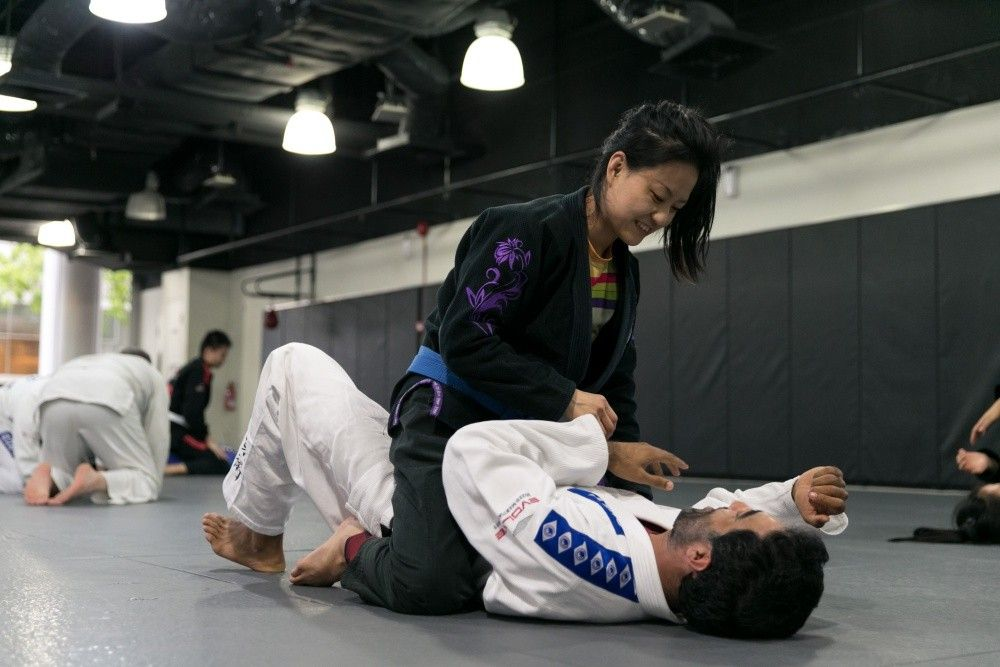The full mount is one of the most dominant positions in BJJ.