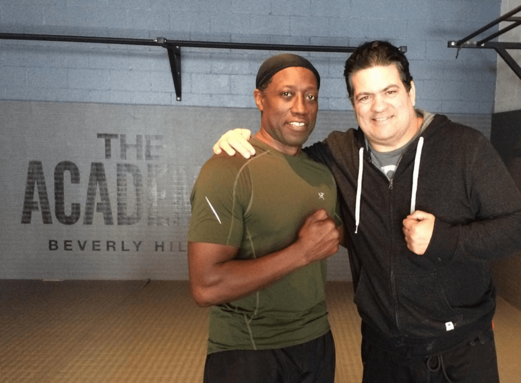 Wesley Snipes trains BJJ with Prof. Rigan Machado.