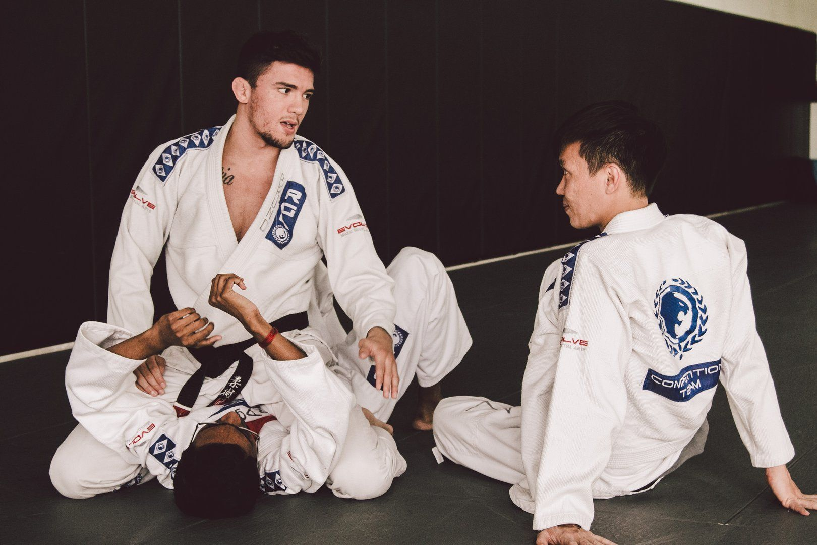 ONE Superstar Bruno Pucci teaches BJJ at Evolve MMA.