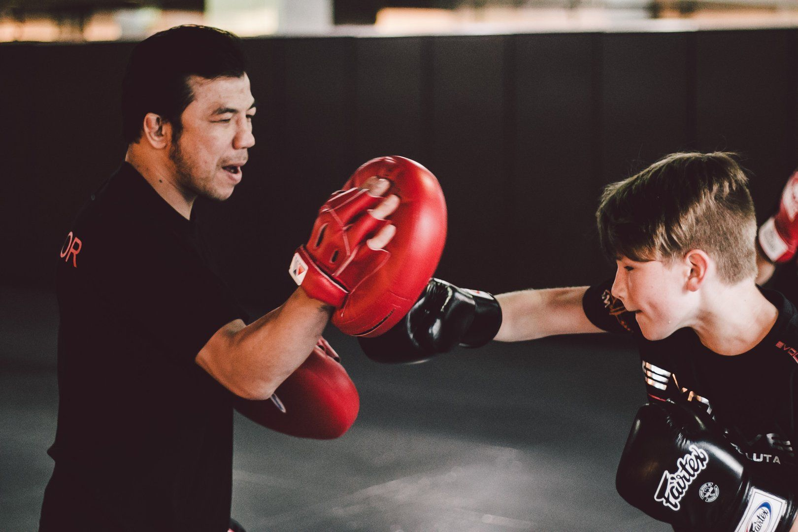 Boxing is a great way to keep your kids active.
