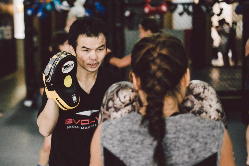 Multiple-time WBC World Champion Pongsaklek Wonjongkam is one the many world champions that teach that Evolve MMA.