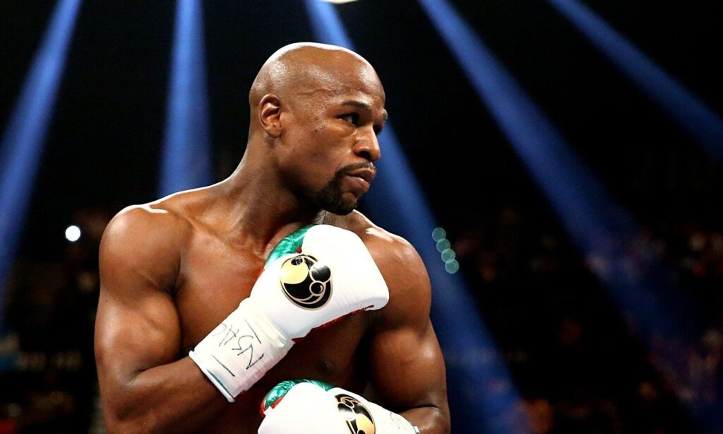 Floyd Mayweather won all his 49 fights throughout his boxing career.