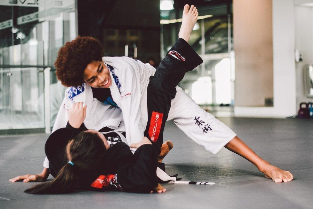 A smaller person can overcome a bigger and stronger opponent with good technique and leverage.