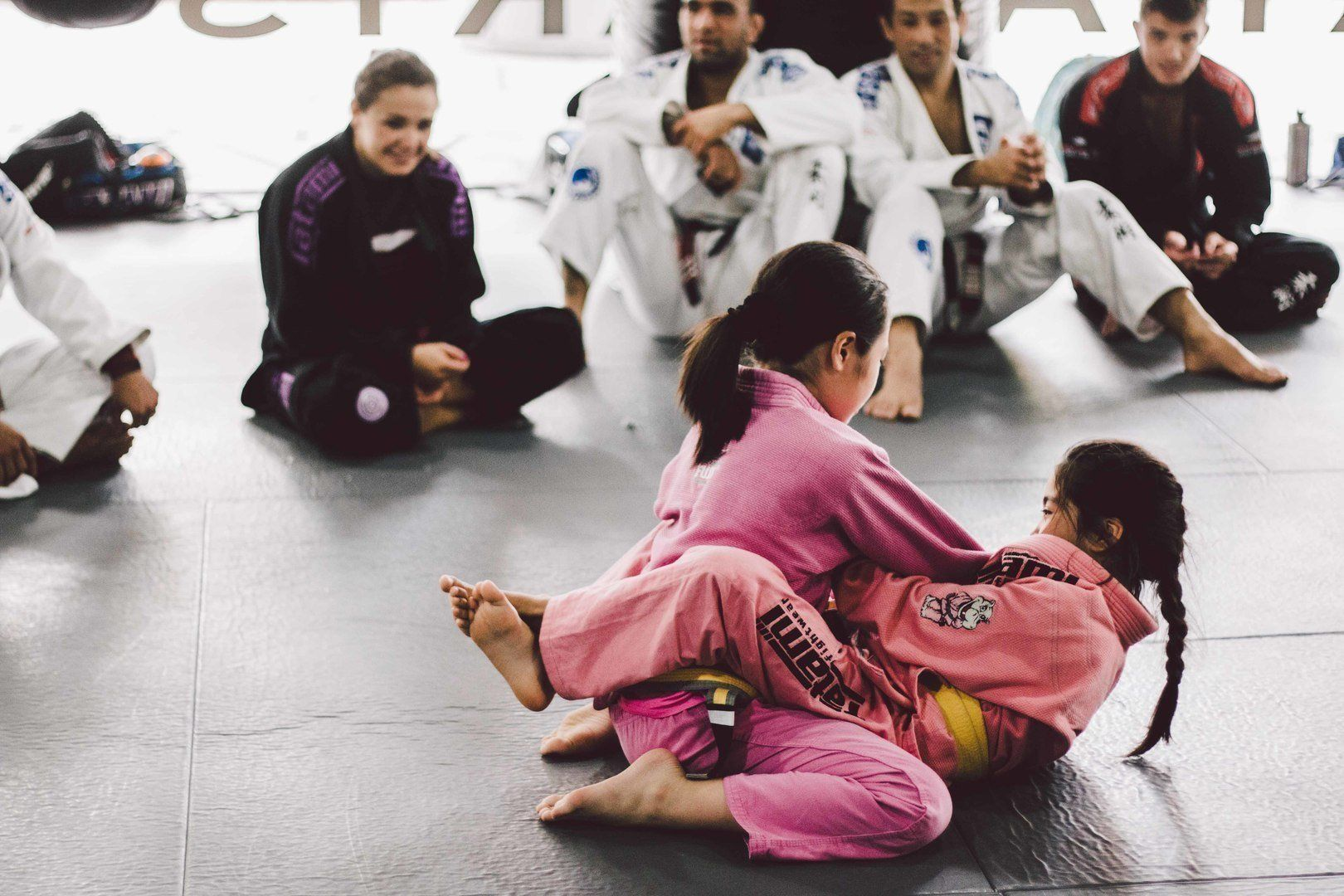 Brazilian Jiu-Jitsu enables a smaller person to overcome a bigger, stronger opponent.