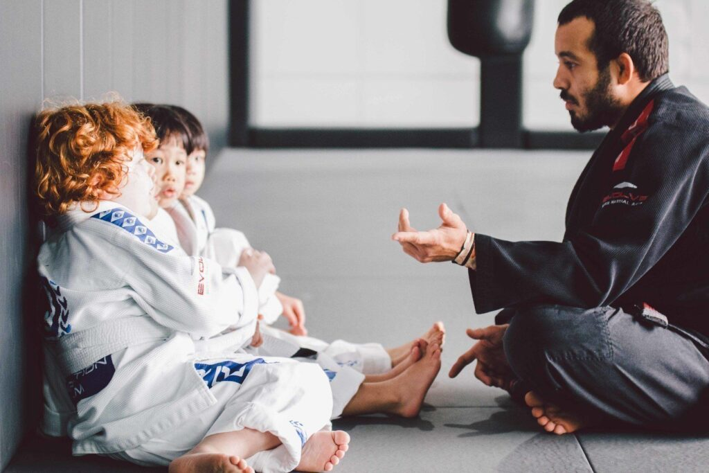 ONE Superstar Almiro Barros teaches BJJ at Evolve MMA.