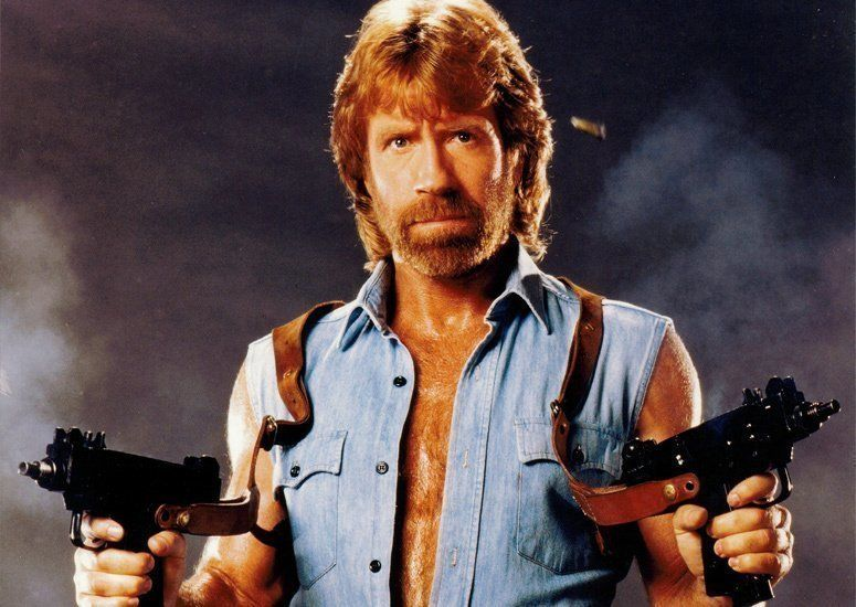 Chuck Norris appeared in several action films, including Way of the Dragon, in which he starred alongside Bruce Lee.