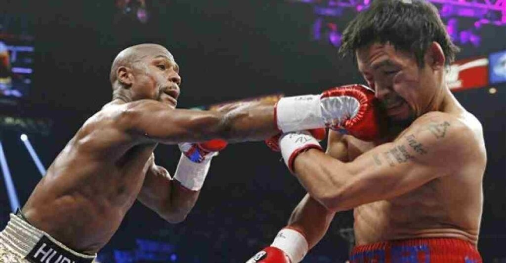 Despite his loss, Manny Pacquiao was still lauded by his loyal fans.