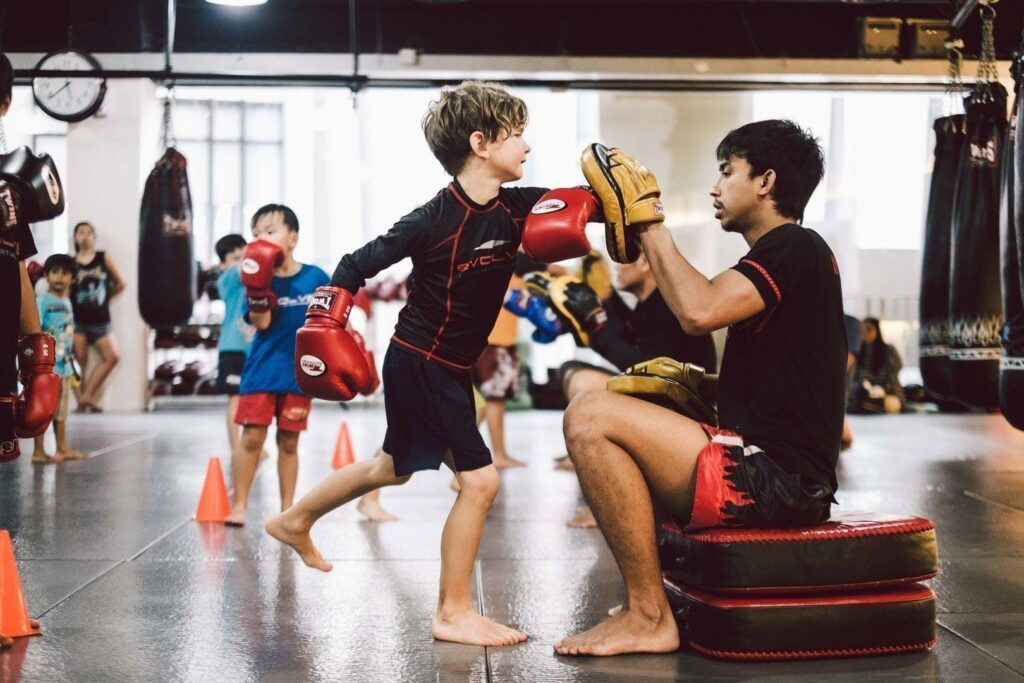 Muay Thai is a great way to keep your kids active.