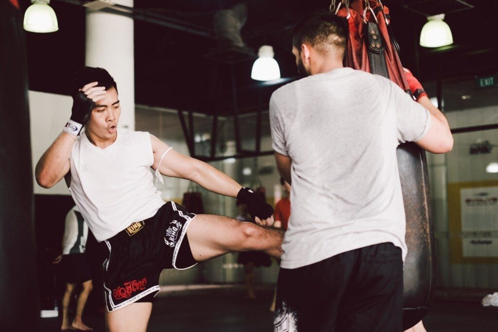 Drilling with a heavy bag helps improve your technique and coordination.