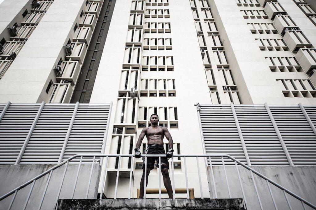 "ONE Superstar Amir Khan received the fighter name ""Golden Boy"" after winning a Muay Thai title in Phuket's Bangla Stadium."
