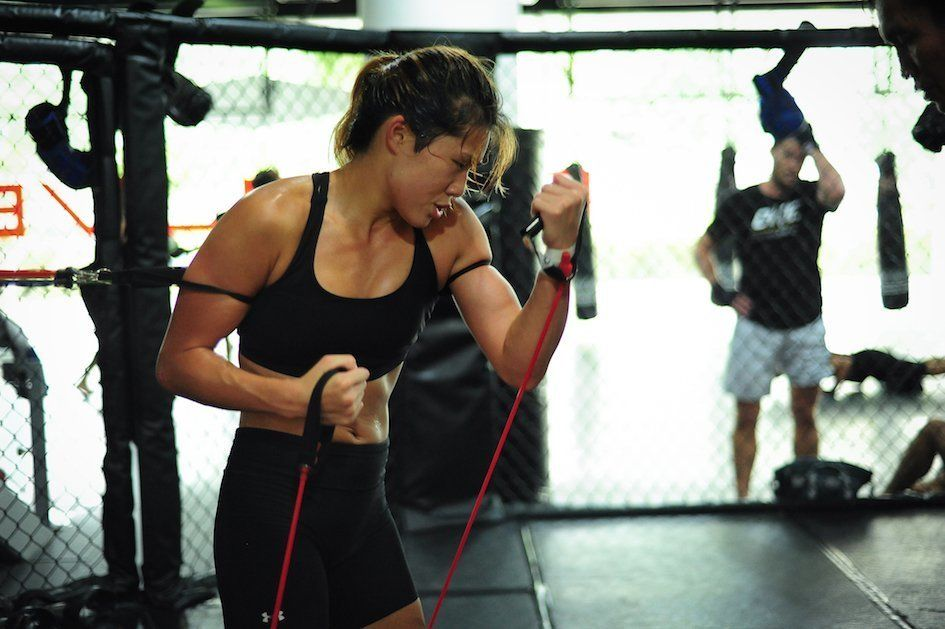 ONE Superstar Angela Lee is is the youngest female to be invited to join the prestigious Evolve Fight Team.