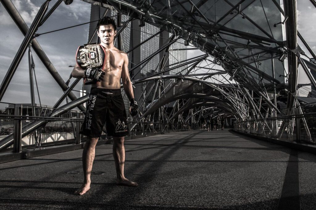 Singapore's 20 year old ONE Superstar Benedict Ang @benedict_saiyan from the EVOLVE Fight Team is ready to defend the honor and glory of Singapore on May 6 at the Singapore Indoor Stadium!