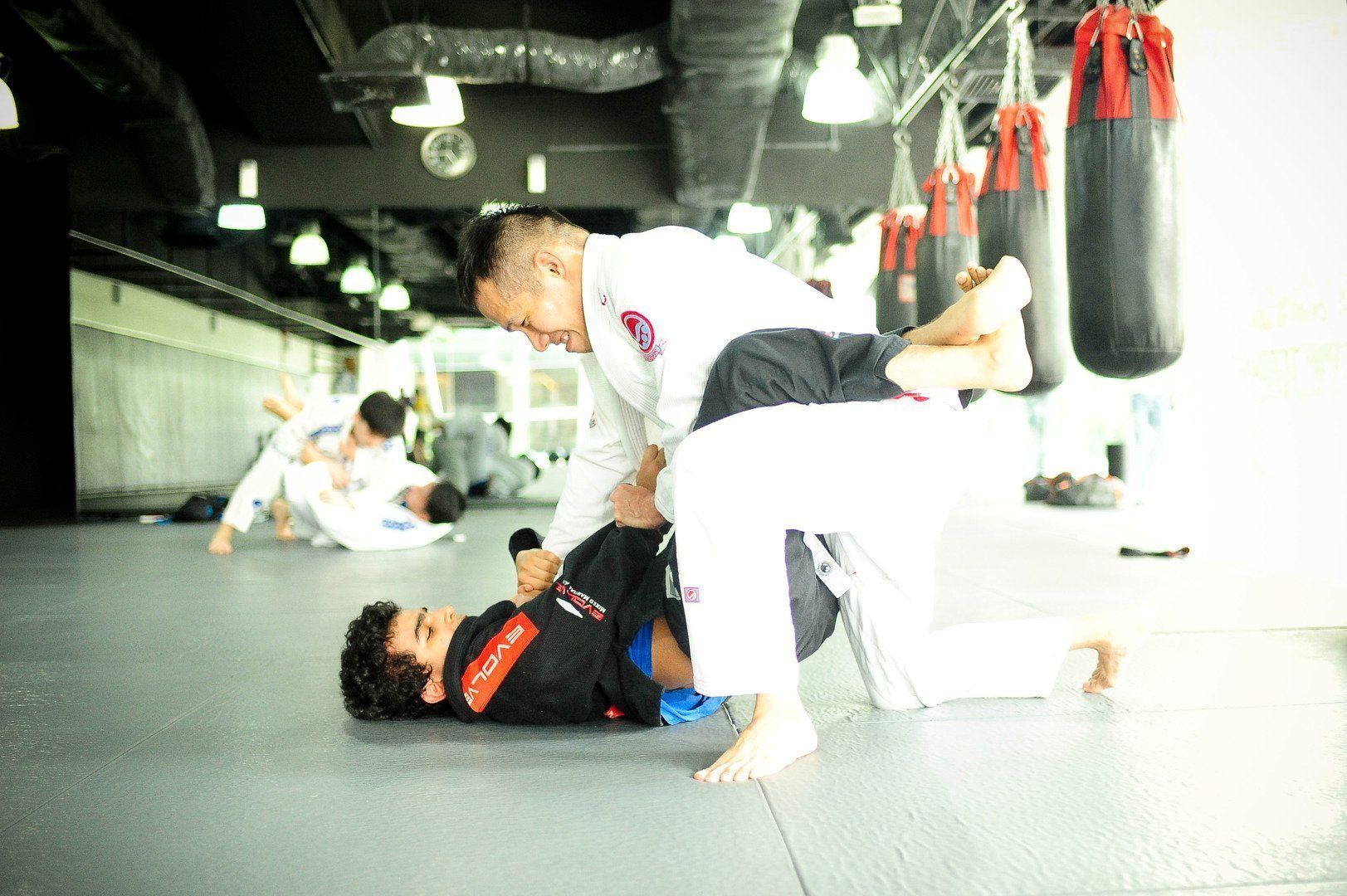 BJJ is designed to enable a smaller person to overcome a bigger, stronger opponent.