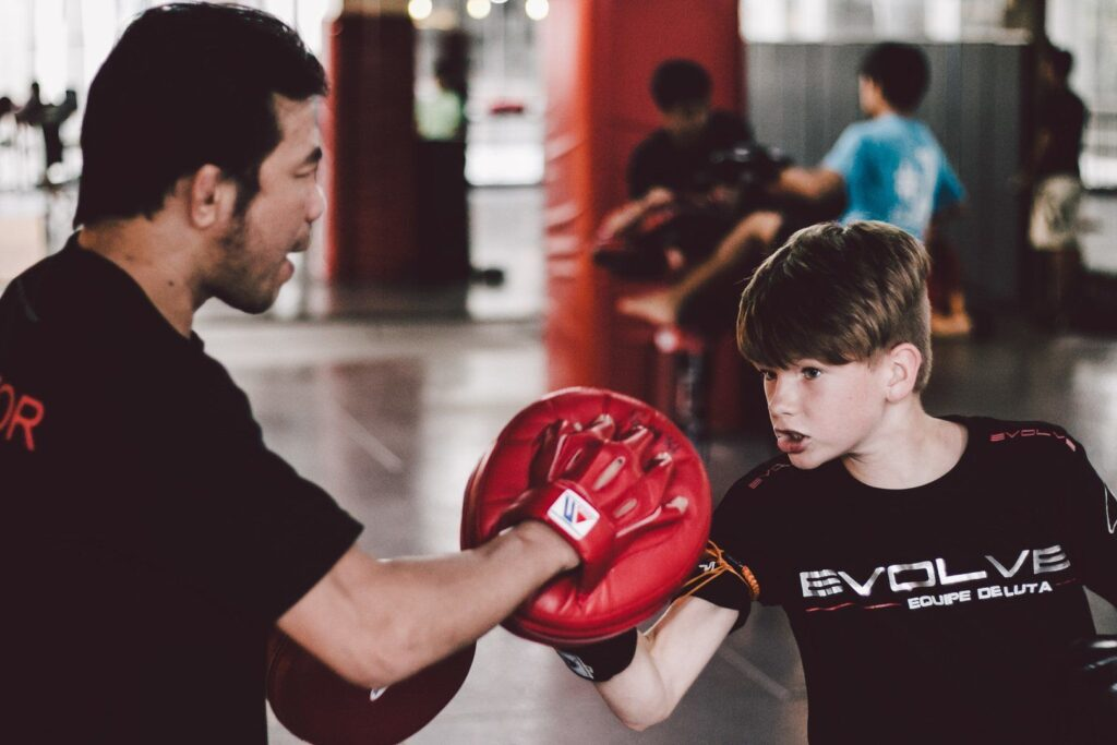 Boxing instills discipline in your kids, while keeping them active.