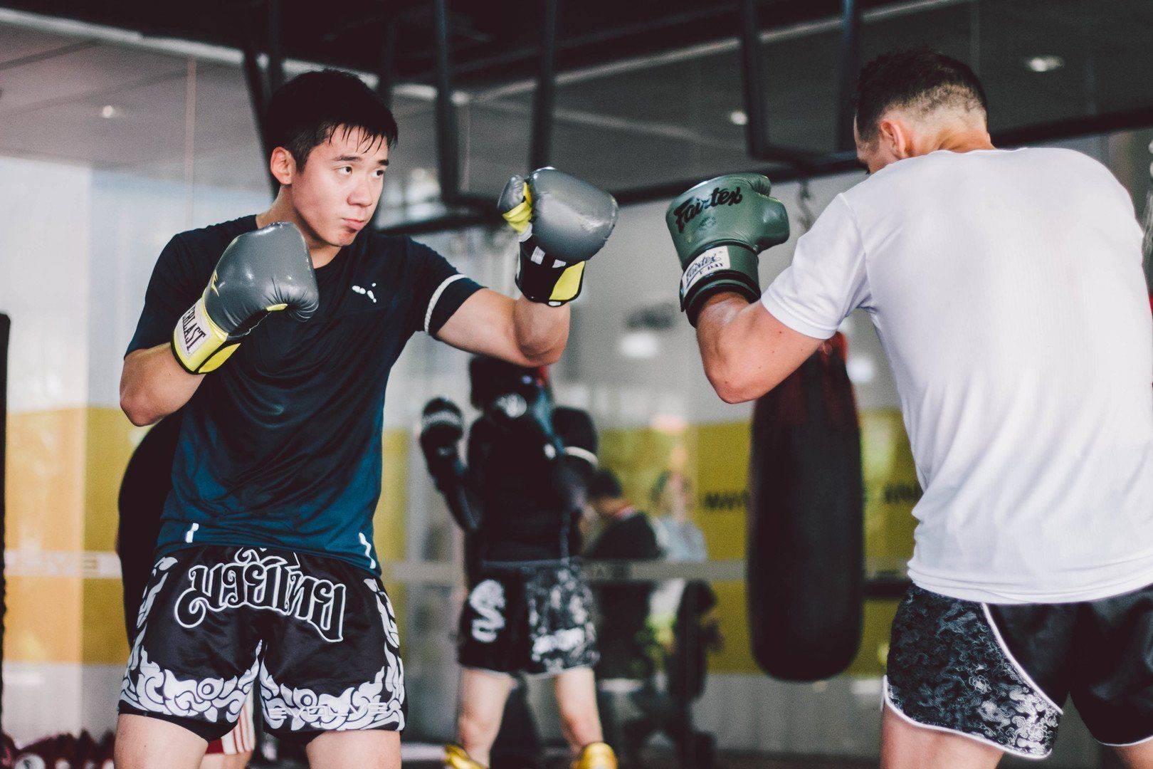 Sparring is a great way to elevate your game as a martial artist.
