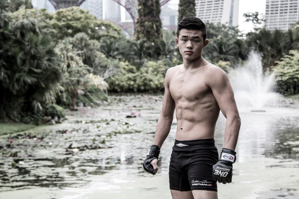 ONE Superstar Christian Lee is the youngest member of the Evolve Fight Team.