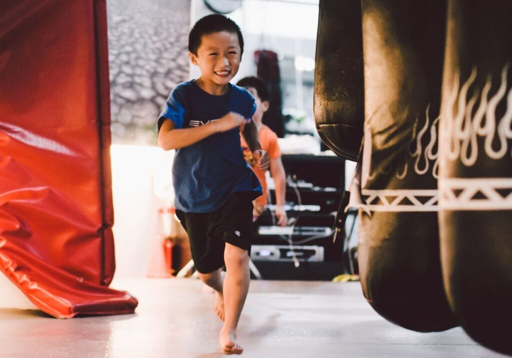 Martial arts is a great confidence booster for kids!