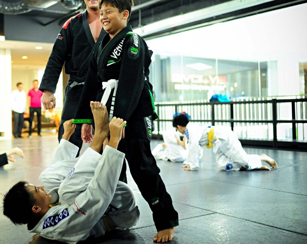 Martial arts can help your child de-stress after school.