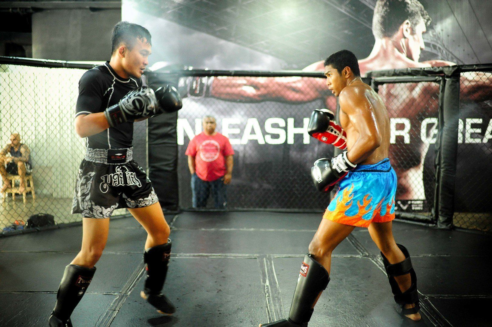 Sparring is a great way to take your game to greater heights.