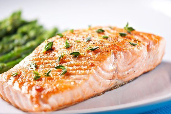 Salmon is rich in omega-3 fatty acids which is good for health.