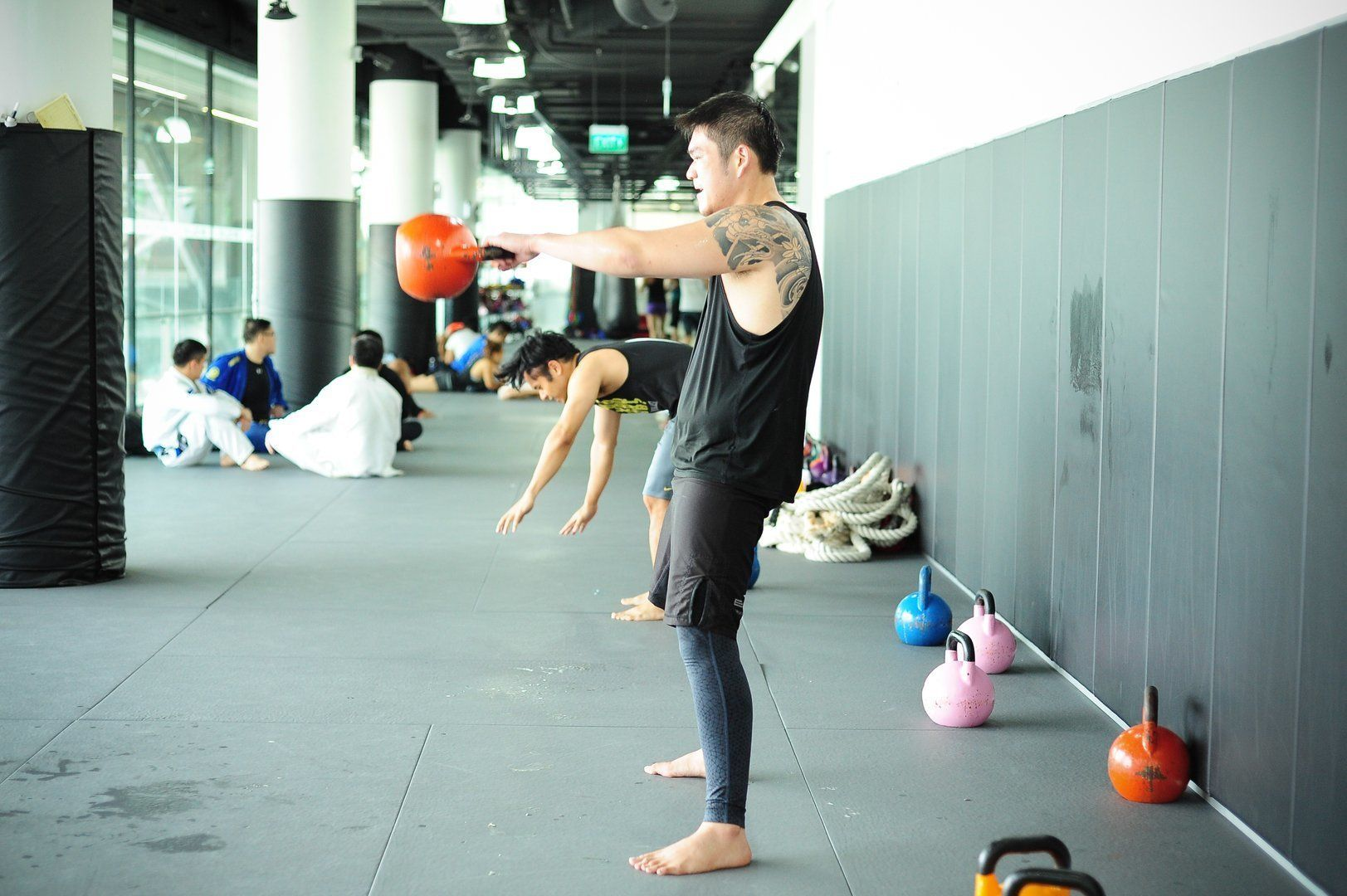 Strength and conditioning is an important aspect of every martial artist's training.