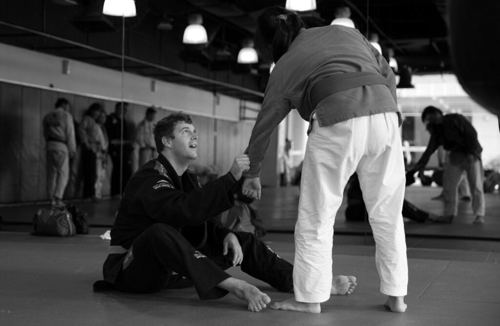 """You don't do jiu jitsu, you feel jiu jitsu."" -- Jean Jacques Machado"