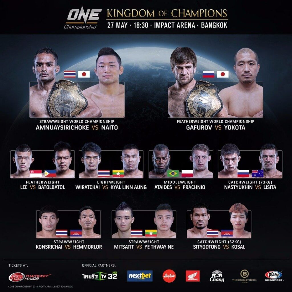 BKK fight card