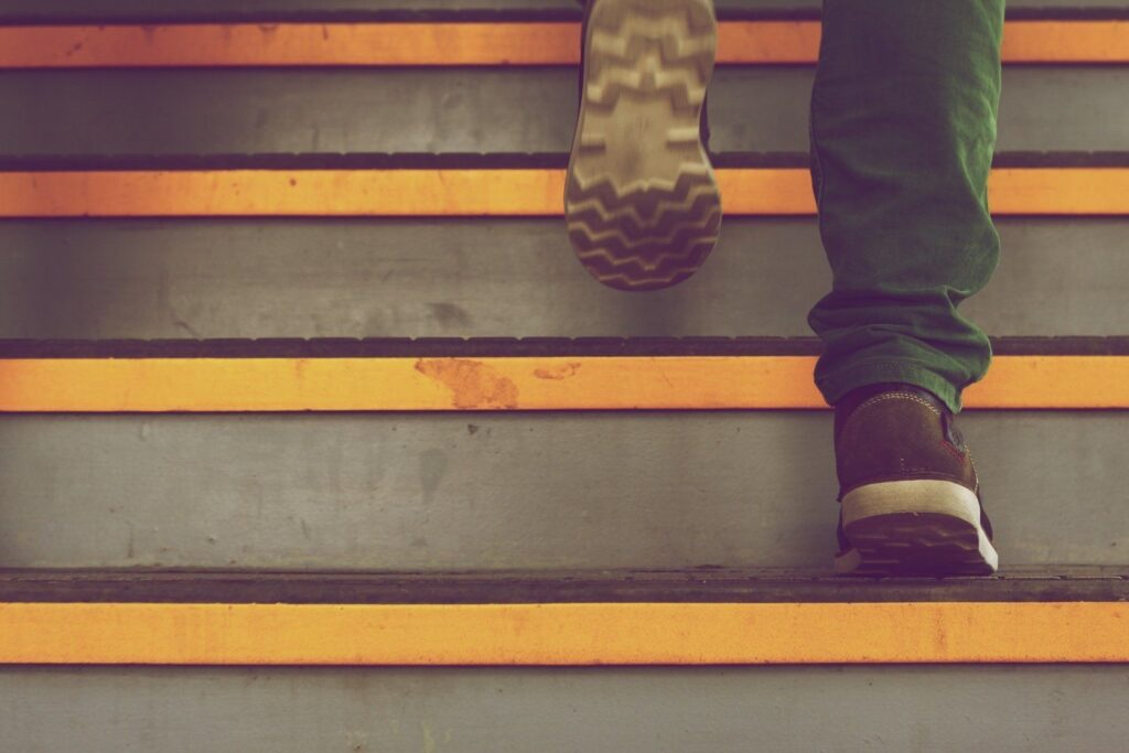 climbing-stairs