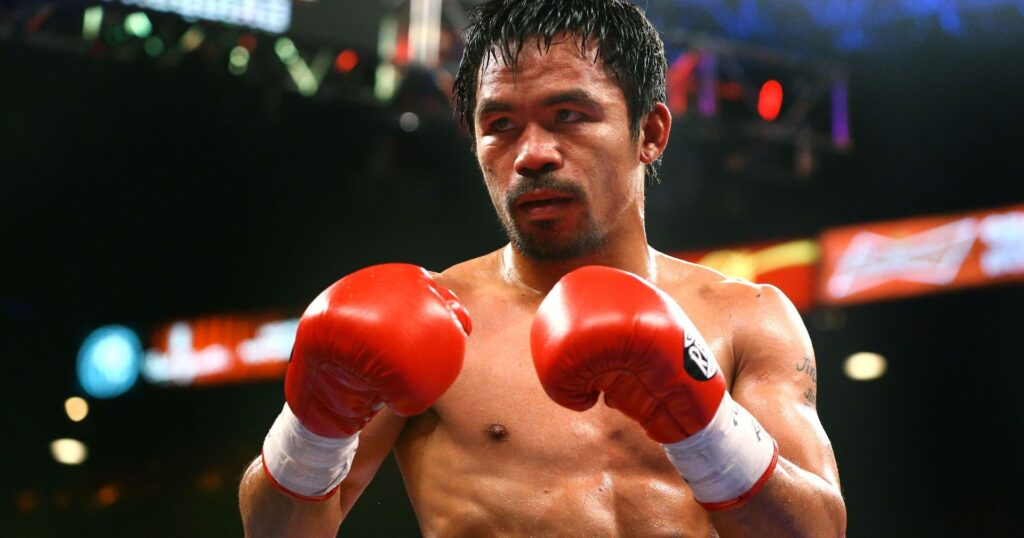 Manny Pacquiao is first and only eight-division boxing world champion, in which he has won ten world titles, as well as the first to win the lineal championship in five different weight classes.