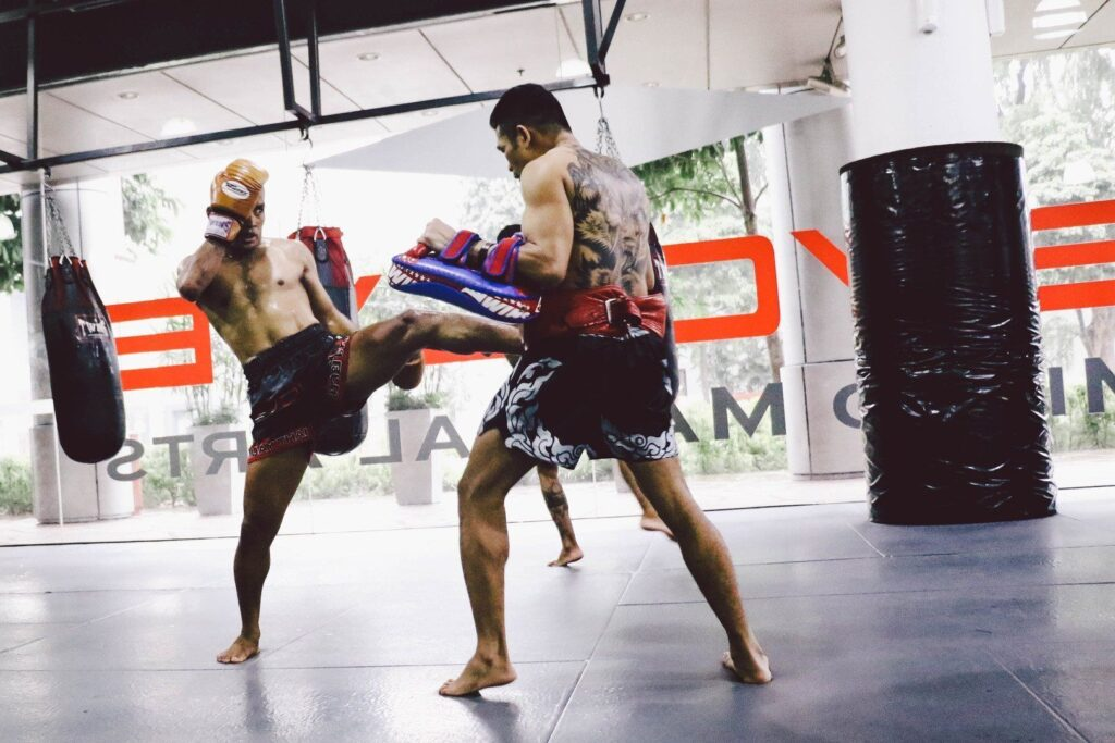 You can burn up to 1,000 calories in a 60-minute Muay Thai training session.