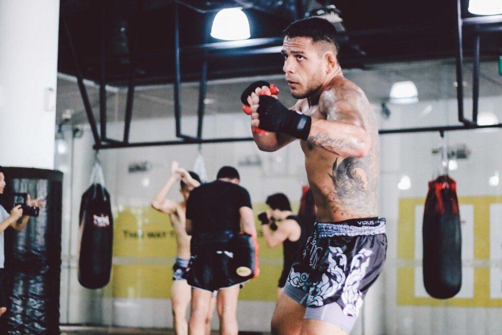 UFC Lightweight World Champion Rafael Dos Anjos trains hard at Evolve MMA's Fighters Program.