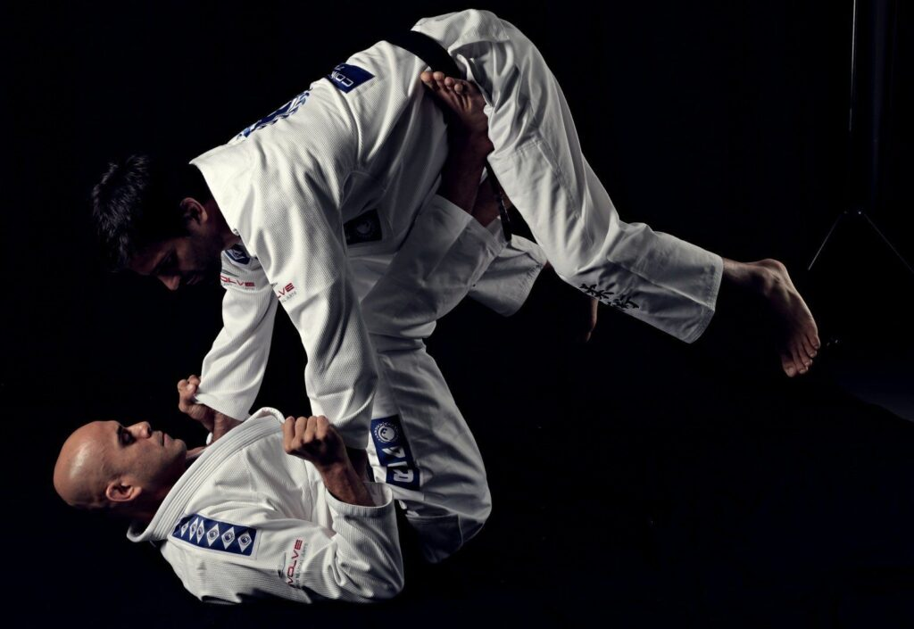 The tomoe nage is an effective sweep with Judo origins.