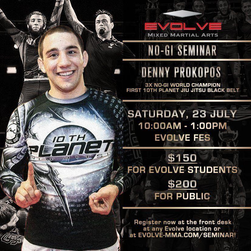 Denny Prokopos Seminar at Evolve MMA