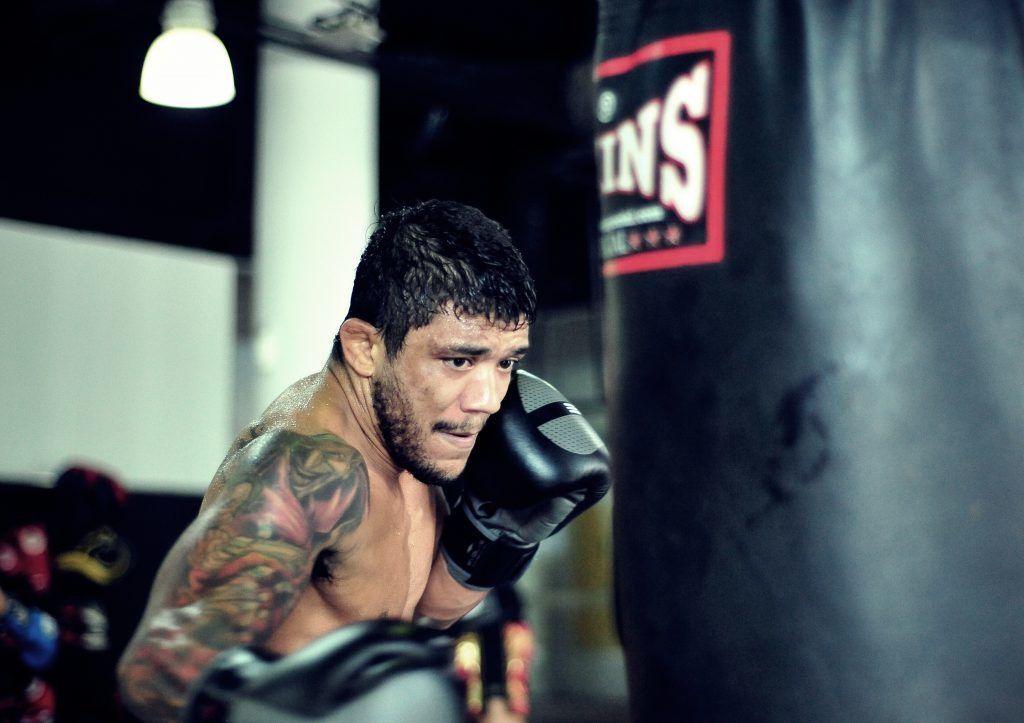 BJJ World Champion and ONE Superstar Alex Silva trains hard at the Evolve MMA Fighters Program.