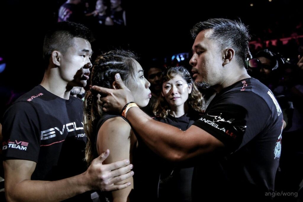 ONE Women's Atomweight World Champion Angela Lee has trained with her father, Ken Lee, ever since she was a little girl.