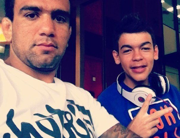 "BJJ World Champion and UFC Fighter Leandro ""Brodinho"" Issa has a teenage son named Leandro Thomas."