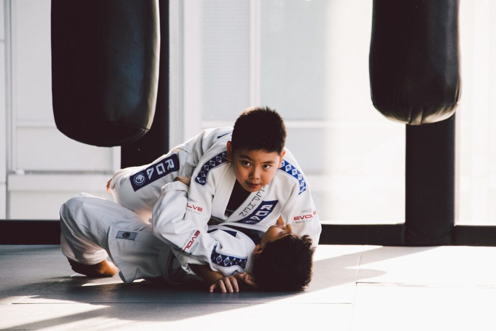 Bully proof your kids by letting them train martial arts.
