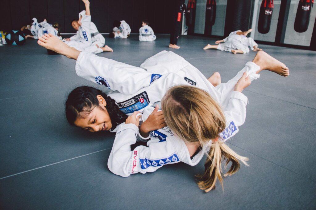 Brazilian Jiu-Jitsu enables a smaller person to overcome a bigger, stronger opponent.