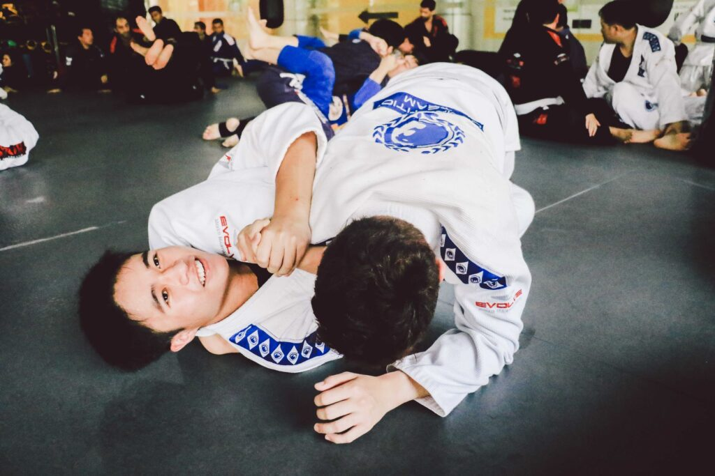"""BJJ is also known as the """"gentle art""""."""