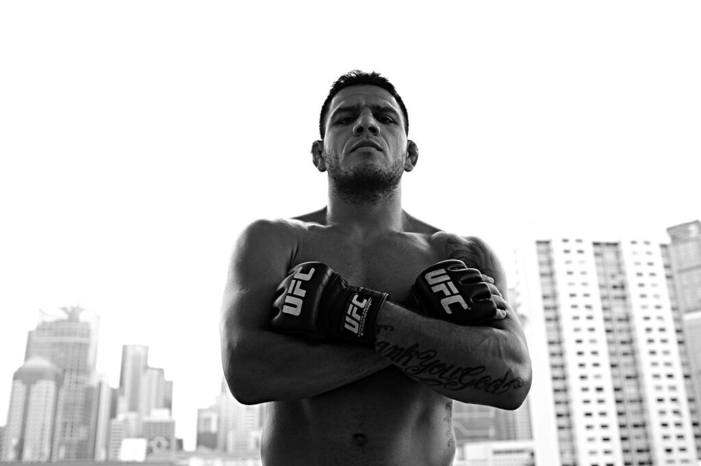 WATCH: UFC Lightweight World Champion Rafael Dos Anjos' Winning Moves — Revealed! (Videos)