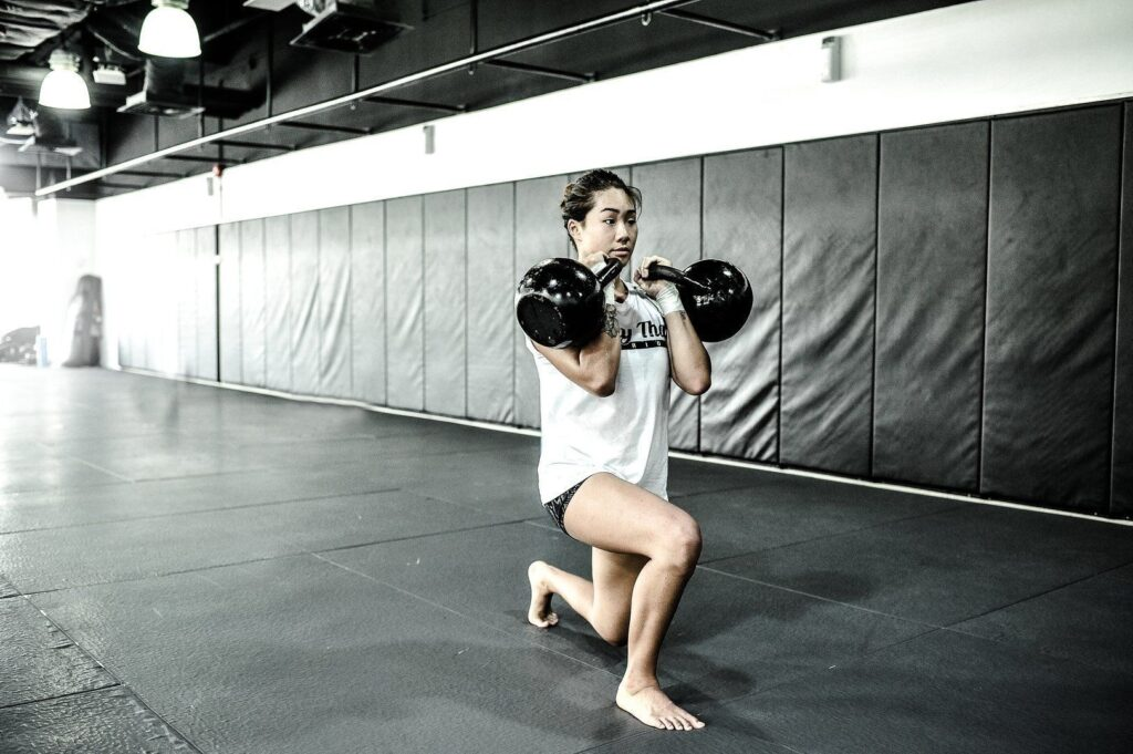 ONE Women's Atomweight World Champion Angela Lee believes strength and conditioning is a great way to complement her MMA training.