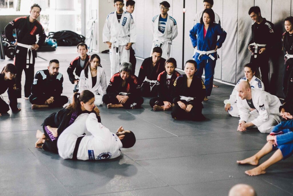 With so many techniques to learn, there's never a dull moment on the mats.