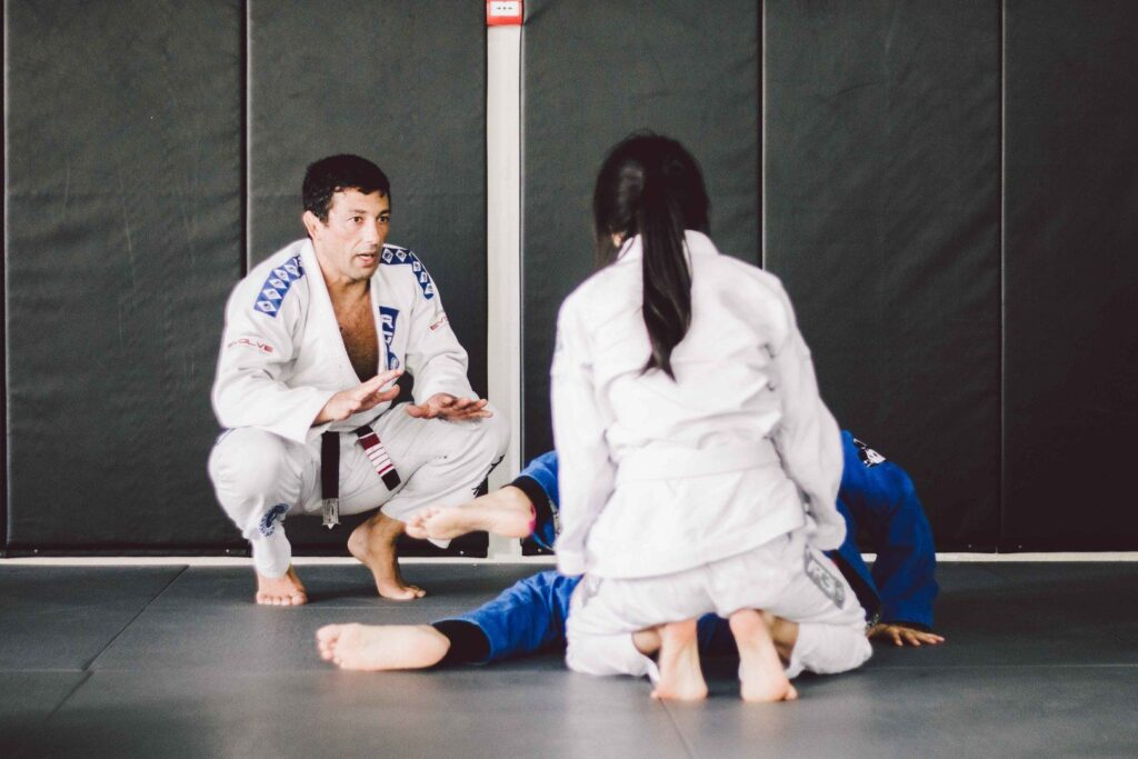 2x Black Belt Mundials World Champion Teco Shinzato teaches BJJ at Evolve MMA.